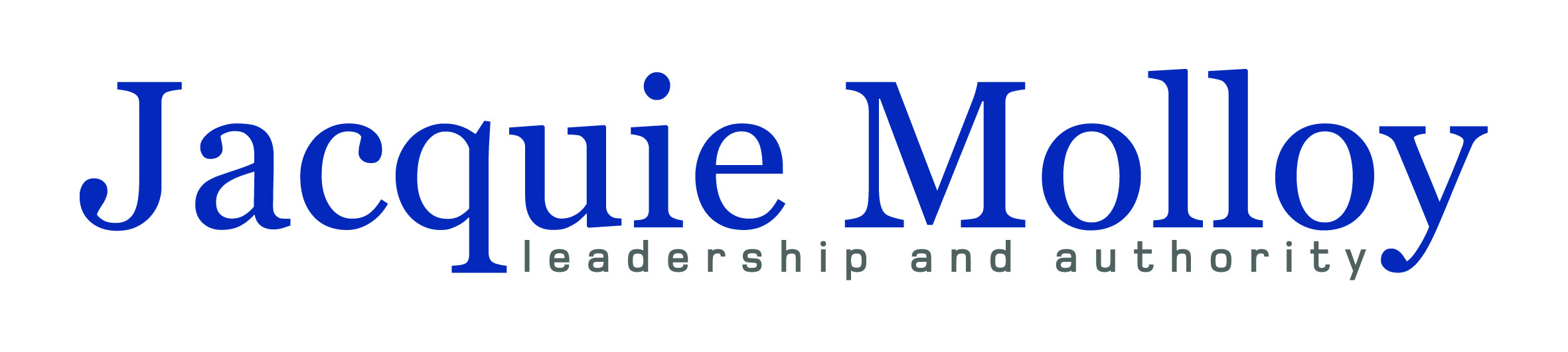 Jacquie Molloy - Leadership and Authority - designed by accurate expressions