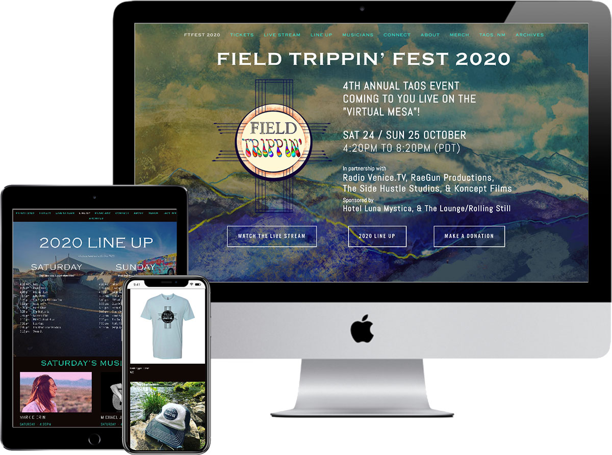 fieldtrippinfest.com - website by accurate expressions
