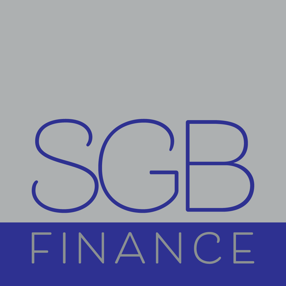 SGB Finance logo designed by accurate expressions