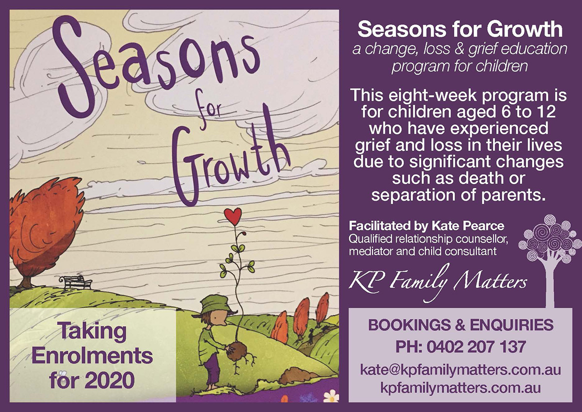 KP Family Matters | Seasons for Growth | designed by accurate expressions