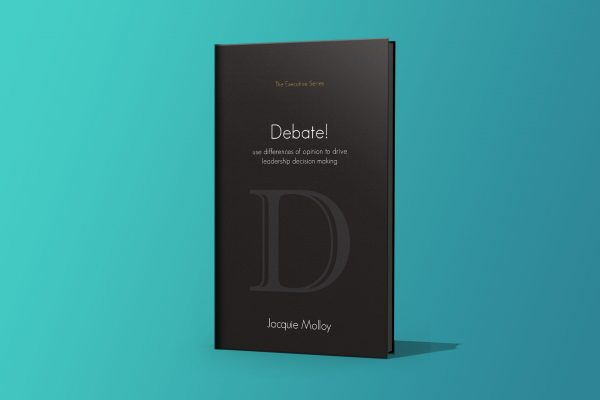 Debate! Jacquie Molloy – designed by accurate expressions